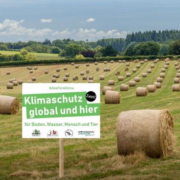 Klima-Schilder-Aktion am 27.08.2021